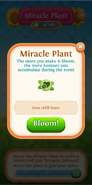 Miracle Plant flower tab lives refill faster