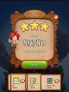 Level scoring