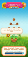 Miracle Plant flower info 1 extra life day for this event