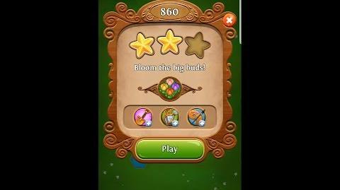 Blossom Blast Saga Level 860 UPDATED