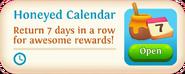 Honeyed Calendar event tab