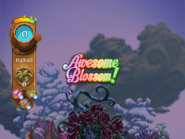 Awesome Blossom exclamation (winter-theme)