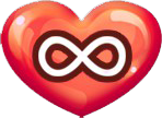 Heart unlimited icon