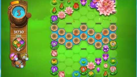 Blossom Blast Saga Level 827 No Boosters