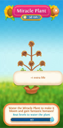 Miracle Plant flower info 1 extra life