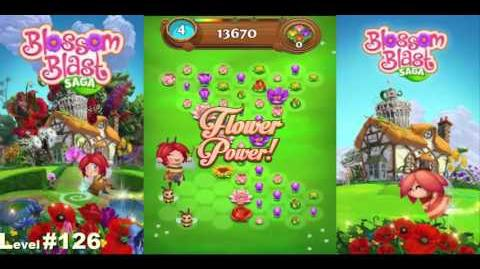 Blossom Blast Saga Level 126 No Boosters No Cheat Engine
