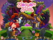 Blossom Blast Saga main menu (halloween-theme) Facebook