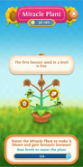 Miracle Plant flower info free first booster used
