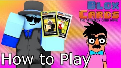 How to Play Blox Cards Roblox