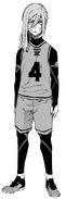 Hyoma Chigiri - Team Z Jersey