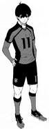 Yoichi Isagi - Blue Lock 11 Uniform