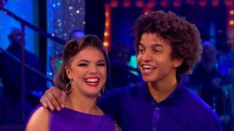 Blue Peter do Strictly