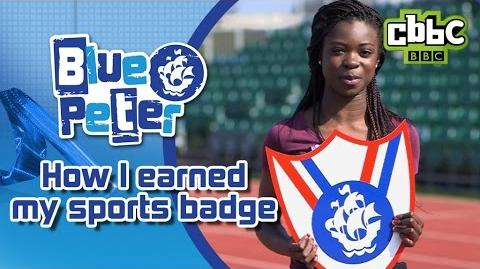 How to earn a Blue Peter Sport Badge - CBBC Blue Peter