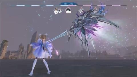블루 리플랙션 보스 & 배틀 게임 플레이 영상 Blue Reflection Battle Gameplay