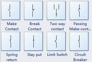 Contact-symbols