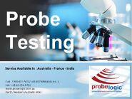 Probe testing