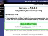 Michigan Society of Clinical Engineering