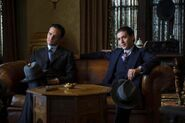 Ben Siegel and Lucky Luciano