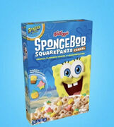 Kellogg's SpongeBob SquarePants Cereal 3rd Movie edition