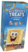 SpongeBob Rice Krispies Treats