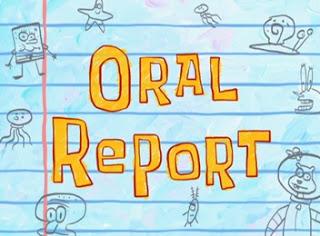 Reporte Oral