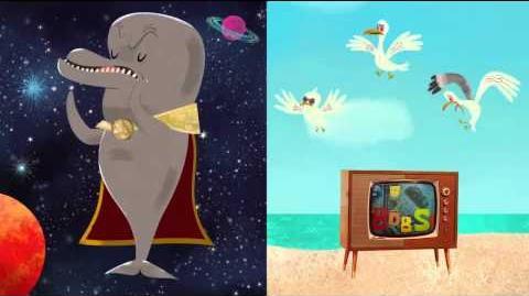 Canción de Bob Esponja+RAP del Delfin-Bob Esponja-Fragmento donde Burbujas rapea.