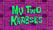 My Two Krabses (Title Card)