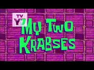 SpongeBob SquarePants- My Two Krabses - Title card -Nick US premiere-