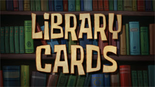 Tarjetas de la biblioteca