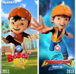 BoBoiBoy comparison