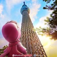 Yaya in Tokyo Skytree