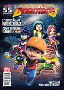 Majalah Komik BoBoiBoy Isu -55