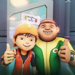 BoBoiBoy and Gopal selfie