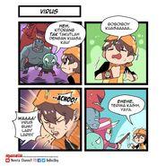 Comic Virus