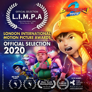 BoBoiBoy Movie 2 London International Motion Picture Awards
