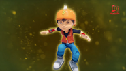 Transformasi BoBoiBoy Angin 1