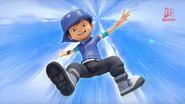 Transformasi BoBoiBoy Angin 9