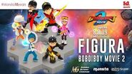 BoBoiBoy Movie 2 - Figurine GSC!