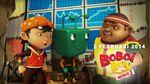 Boboiboy,Gopal and Adu Du are discussing something!