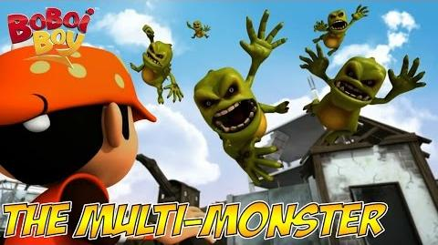 BoBoiBoy (English) S1E3 The Multi-Monster
