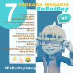 7 Things Interesting about BoBoiBoy
