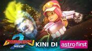 "BoBoiBoy Movie 2 - Klip ""ArmoBot!"" Kini Di Astro First, CH480"