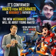 Amato Confirmed