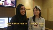 Nur Sarah Alisya dan Yap Ee Jean di sebalik tabir BBB the Movie