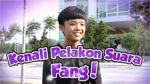 Interview bersama pelakon suara Fang- Wai Kay!