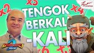 BoBoiBoy Movie 2™️ TGV PSA TOK KASA (TENGOK BERKALI-KALI)