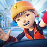 BoBoiBoy selfie