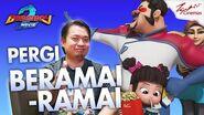 BoBoiBoy Movie 2™️ TGV PSA PAPAZOLA (PERGI BERAMAI-RAMAI)