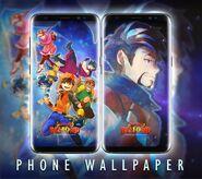 BoBoiBoy Beyond Phone Wallpaper