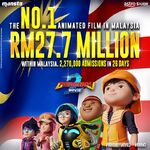 The No. 1 Animation Film in Malaysia!